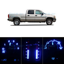 LED Package AC Climate Controls Blue Bulb for 2003-2006 Chevy Silverado 2500 HD