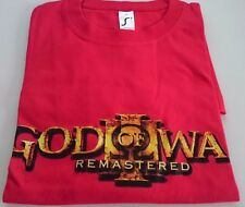 God Of War III REMASTER : T-shirt Taille M [Collector - Ps3/Ps4]