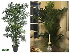 Large Artificial Silk Palm Tree Potted Plant Tropical Home Decor Office 6.5 Feet