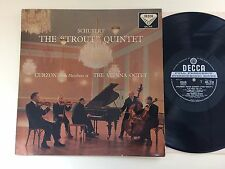 "CLIFFORD CURZON Schubert The ""Trout"" Quintet UK LP DECCA SXL 2110 ED1"