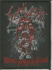 SLAYER World Painted Blood Woven Patch Sew On Official Band Merch Metal