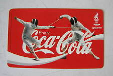 CALENDARIETTO COCA-COCA  ATLANTA 1996 OLYMPIC GAMES-OFFICIAL SOFT DRINK