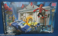 SPIDERMAN 3 Mega Bloks 2004 Sandman Bank Heist New 285 pieces