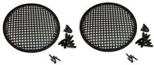 "2 Pack Penn Elcom G10 Speaker Grill With Mounting Hardware for 10"" Sub Woofers"