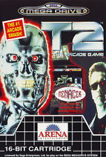 ## Terminator 2: The Arcade Game T2 - SEGA Mega Drive / MD Spiel - TOP ##