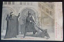 CARTOLINA  - SCENA 4° ATTO - FRANCESCA DA RIMINI - 1905