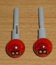 Lego Ritter 2 Raketen mit Aufdruck