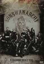 Sons Of Anarchy - Serie Tv - 4^ Stagione - Cofanetto Con 4 Dvd - Nuovo Sigillato