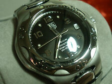 TAG Heuer WL5119 Kirium Chronometer Black Polished Brushed Stainless Case Papers