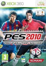 PRO EVOLUTION SOCCER 2010 (PES) Microsoft Xbox 360 *NEW NOT SEALED*