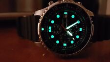 RARE CITIZEN  PROMASTER  CHRONOGRAPH DIVER 200M/660FT MEN'S WATCH