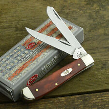 Case XX Smooth Chestnut Bone Mini Trapper Pocket Knife 28700 6207 SS