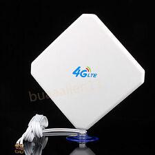 Antenne 35DBI 3G 4G LTE TS9 For HUAWEI E398 E5375 E5786 E8278 E630 2M Câble Base
