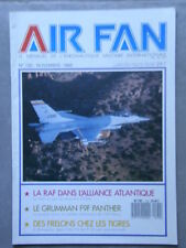 AIR FAN N° 120 RAF ALLIANCE ATLANTIQUE/GRUMMAN F9F/FRELONS CHEZ LES TIGRES