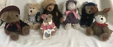 LOT of 7 Boyd's Bears With Original Tags
