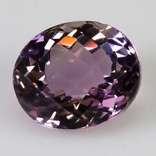 9.27 ct Ametrine Chequerboard/oval cut 13.75x11.65mm VVS Natural loose gemstone