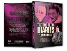 The Crockett Diaries - Jim Cornette DVD, NWA WCW Wrestling WWE WWF Starrcade ROH