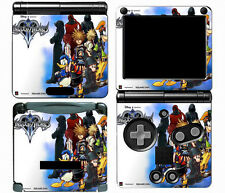 Kingdom Hearts 018 Vinyl Decal Skin Cover Sticker for Game Boy Advance GBA SP