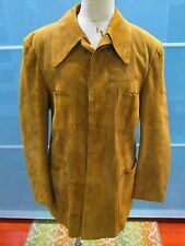 Ericson of Sweden Suede Button Front Jacket Size 42
