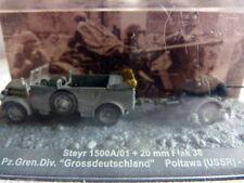 Tank char blindé Altaya - 1/72 - Steyr+ 20mm Flak 38 - Grossdeutschland Poltawa