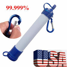 PORTABLE Personal WATER FILTER Purification Purifier Survival Gear WP