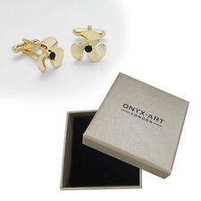 Mens Ship Propeller Sailor Cufflinks & Gift Box By Onyx Art