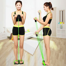 Thin Pedal Rally Rope Fitness Elastic Sit Up Abdominal Exerciser Sport Equipment