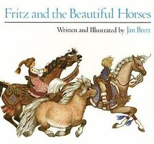 Fritz and the Beautiful Horses by Jan Brett (1987, Paperback)