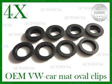 OVAL VW SKODA FORD PORSCHE MAZDA CAR MAT CLIPS FLOOR HOLDERS FIXING CLAMPS 4X4