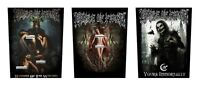 Cradle Of Filth Sew On Back Patch/Patches NEW OFFICIAL. Choice of 3 designs