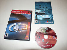 +++ GRAN TURISMO A SPEC 3 GT3 Sony  Playstation 2 PS2 Game COMPLETE +++