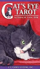 Cat's Eye Tarot NEW Sealed 78 Color Cards Deck Reptiles Mice Fish Birds Suits