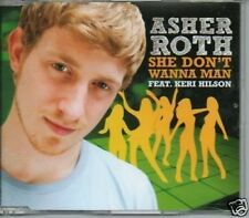 (494T) Asher Roth, She Don't Wanna Man - DJ CD