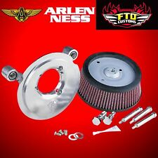 Arlen Ness Big Sucker Air Cleaner Intake Stage 1 Filter Kit Harley Sportster XL