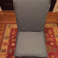 PB Comfort Dining Side Chair Slipcover - Washed Linen - Light Blue