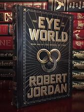 Eye of the World Wheel of Time by Robert Jordan Sealed Leather Bound Collectible
