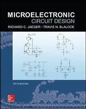 Microelectronic Circuit Design by Blalock and Richard Jaeger (2015, Hardcover)