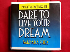 Dare to Live Your Dream - Barbara Sher - Self-Help Popular Course Audio 9-CD Set