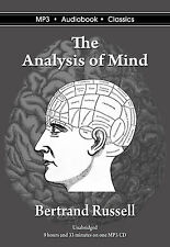 The Analysis of Mind - Unabridged MP3 CD Audiobook in DVD Case