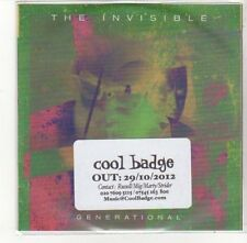 (DK736) The Invisible, Generational - 2012 DJ CD