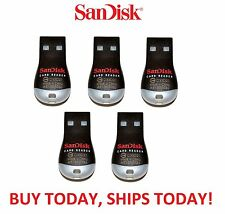 5x LOT Genuine Sandisk SDDR-121-G35 MobileMate MicroSD to USB Card Drive Reader