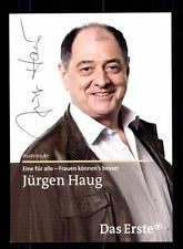 Jürgen Haug Eine für alle Autogrammkarte Original Signiert # BC 66713