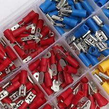280PCS ASSORTED INSULATED ELECTRICAL WIRE TERMINALS CRIMP CONNECTORS SPADE SET F