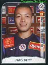 307 JAMEL SAIHI MOROCCO ROOKIE MONTPELLIER HERAULT.SC STICKER FOOT 2010 PANINI