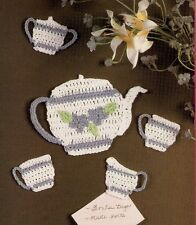 CUTE Tea for Two Fridgies/Crochet Pattern INSTRUCTIONS ONLY