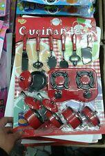 Set servizio pentole da cucina  kit gioco di qualità giocattolo toy