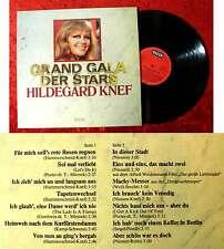 LP Hildegard Knef: Grand Gala der Stars (Decca 622 581 AO) D 1976