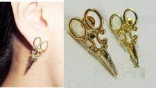 E179 Betsey Johnson Dressing Hair Stylish Scissor Earrings  US