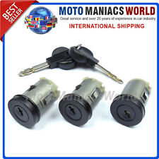 CITROEN XANTIA Door Lock Barrel LOCKSET x 3 pcs BRAND NEW !!!