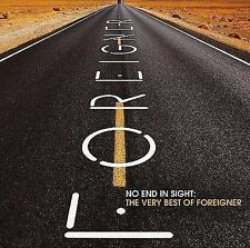 Foreigner - No End in Sight: The Very Best of Foreigner (CD, Jul-2008, 2 Discs)